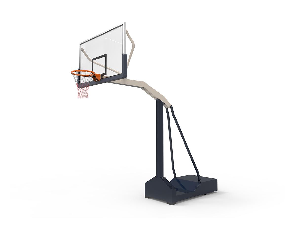 沧州市篮球架生产厂家:如何正确地安装篮球架